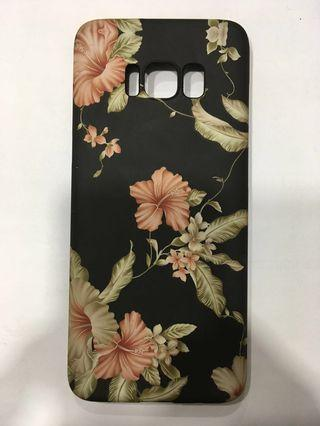 S8 flower design case