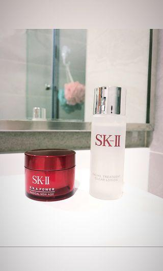 SK II RNA Power (15g) & Clear Lotion (30ml)
