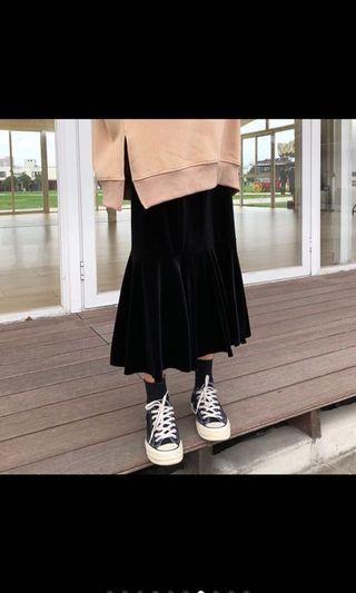 🚚 金絲絨光澤感魚尾裙👗#衣櫃大掃除