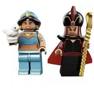 Lego 71024 Disney Series 2 Jafar & Jasmine Minifigure