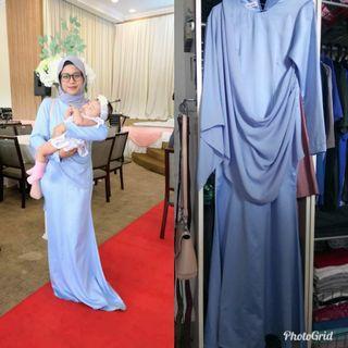 Dress saree style