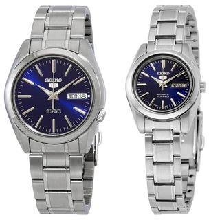 [BNIB] *Mother's Day Special* Seiko 5 Automatic SNKL Men's & SYMK Ladies' Dress Watch