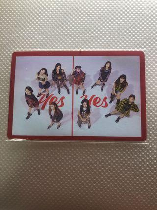 Twice Yes or Yes Kpop Photocard