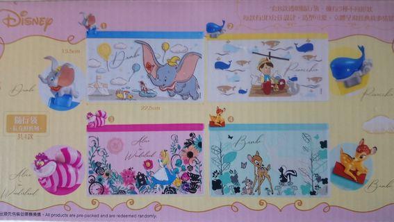 全新有盒7-11  Disney 小鹿斑比隨行袋