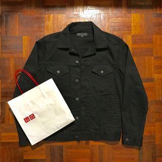 Uniqlo Denim Jacket (Black)