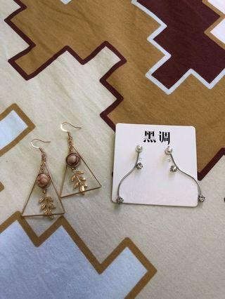 Fashion Earrings (2pair sell together)