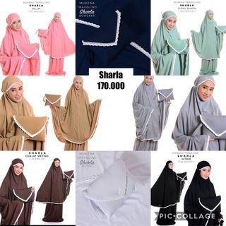 Mukena Katun travel set