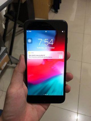 iPhone 7 plus 128Gb matt black singapore