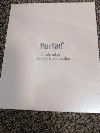 Brand New Purfae Brightening Protection Combination