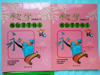 🚚 Chinese calligraphy 书法 books for kids and adults