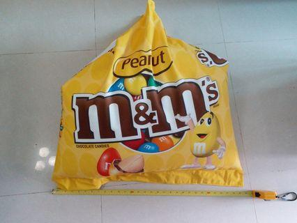 Limited Edition M&M soft fluffy bean bag