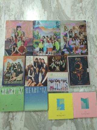 [WTT/WTS] Kpop Girl Group Clearance Masterlist (Twice / GFriend / WJSN / Dreamcatcher / Oh My Girl / Cherry Bullet / Everglow / Fromis_9 / Iz*one / Izone / (G)i-dle )