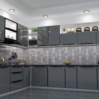 Kitchen Set Aluminium modern