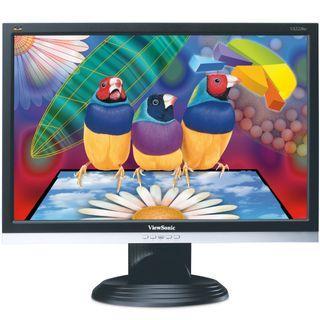"ViewSonic 22"" widescreen LCD monitor VGA DVI-D"