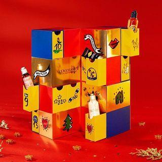 🚚 歐舒丹倒數月曆 盒子 loccitane a la sha Gozo Liz Lisa 資生堂