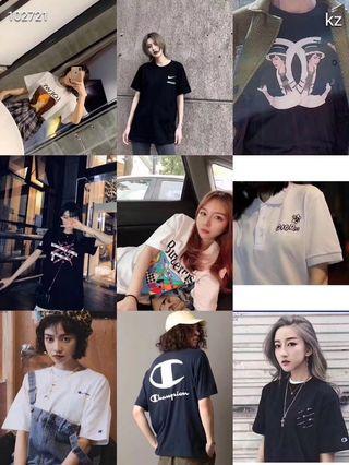 famous brand tshirt