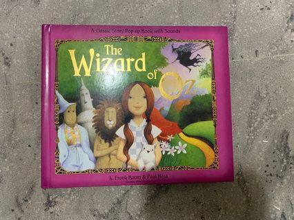 綠野仙蹤 pop up 故事書 The Wizard of Oz pop up book