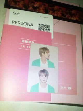 Wtt Jin Map of the soul persona ver 1 pc