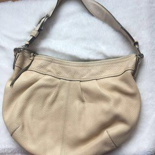 Coach Authentic Beige Leather
