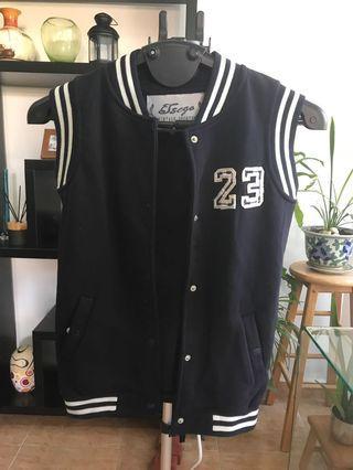 Varsity Jacket Sleeveless