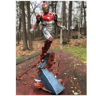 Iron Man Mark 47 1/6 scale statue