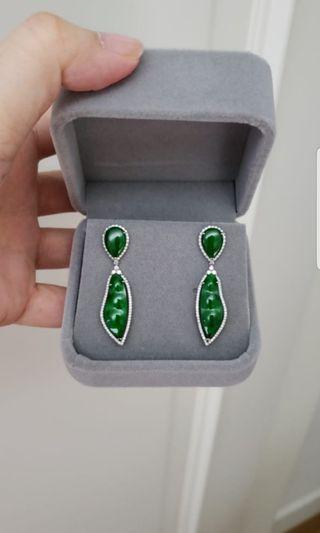 A Jade earrings
