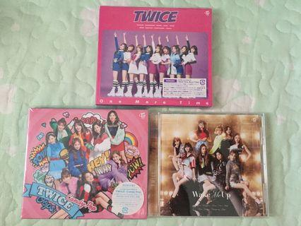 WTS/WTT Twice Japanese Albums