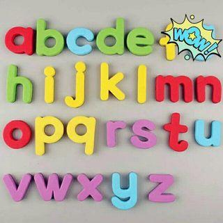 Learning Alphabet Magnet