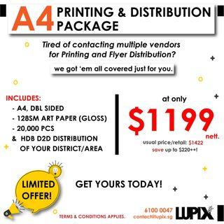 CHEAP PRINT AND DISTRIBUTION