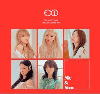 [EMS PO] EXID 5th Mini Album - WE
