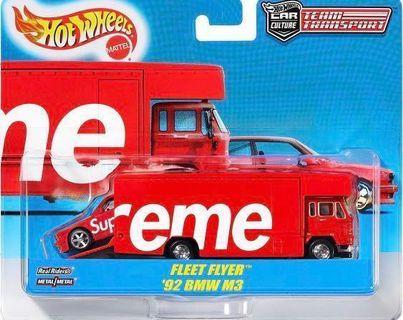 Supreme x Hot Wheels 風火輪小汽車