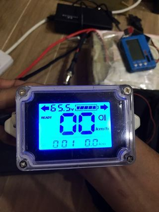 LCD display with indicators for Ebike Escooter
