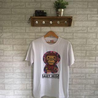 Tshirt kaos baby milo a bathing ape bape