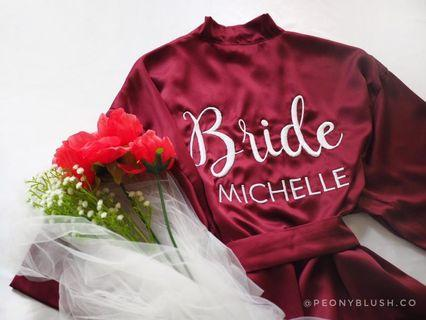 🚚 Bride Bridesmaid Robe