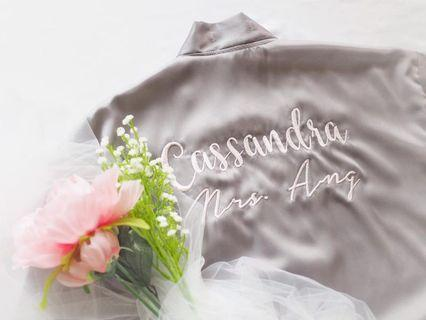 Bride Bridesmaid Robe