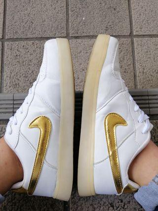 Inspired Nike Air Force 1 ( gold ) w lights