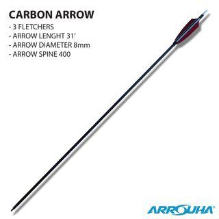 ARROW CARBON 3 FLETCHERS