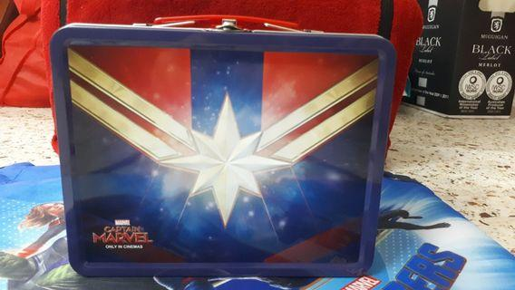 Official Avengers Endgame Merch Lunchbox (READY STOCK)