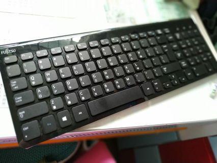 (九成新)Fujitsu 靜音鍵盤