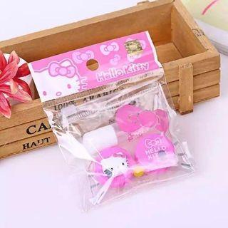 🚚 SALE🔥韓版卡通貓咪塑料防水美瞳盒伴侶盒雙聯盒