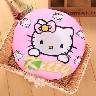 🚚 SALE🔥可愛卡通貓咪kt沐浴防水浴帽