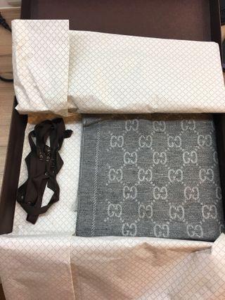 Gucci 圍巾 正品 全新 約200*49cm 限面交 不換貨