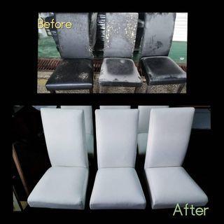 Repair kerusi makan dan sofa