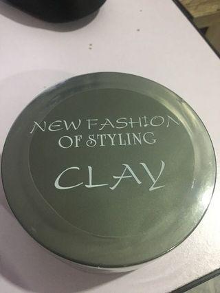 Sb 2 clay hair wax