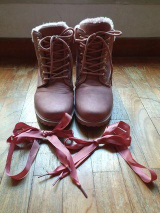 🚚 Winter Boots pink