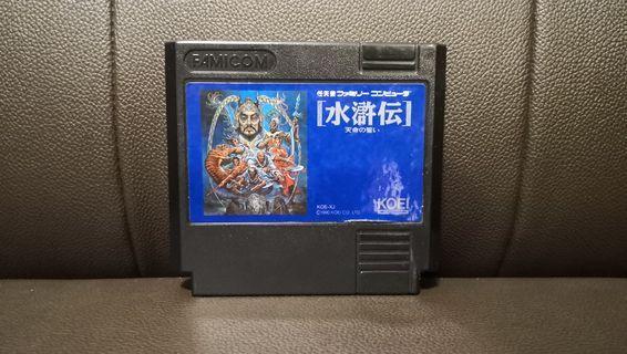 水滸傳 NES FC Nintendo Famicom Game 任天堂 紅白機 遊戲帶