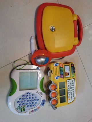 兒童學習英文電子玩具3部
