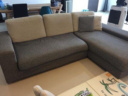 🚚 L Shaped Sofa