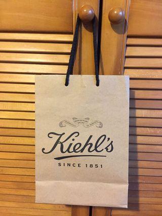 🚚 正版Kiehl's紙袋