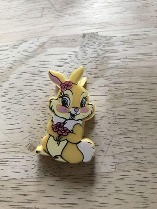 Disney Miss bunny 夾仔